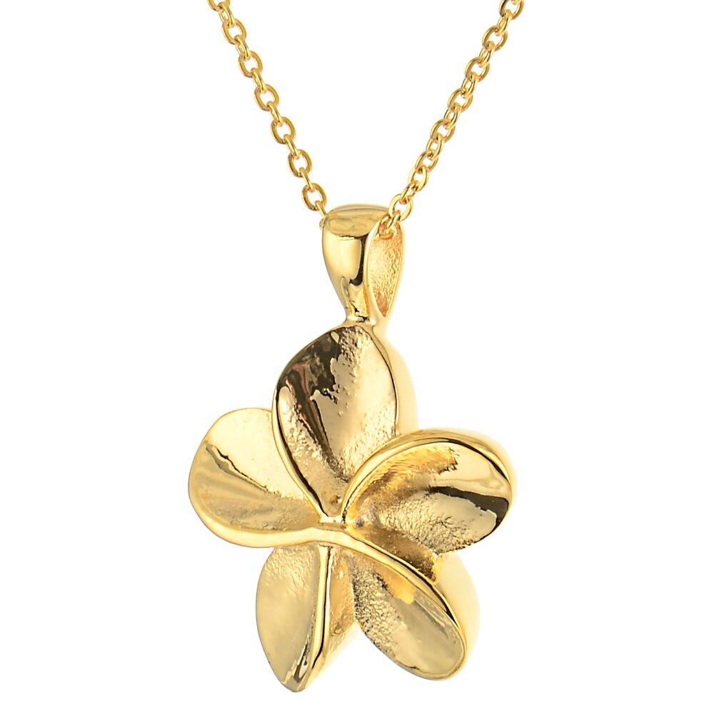 Farbe Aus Was: Asche Anhänger Blume In Der Farbe Gold